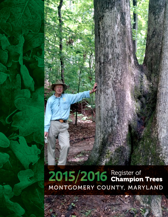 Champion Trees of Montgomery County MD 2015-16